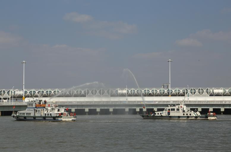 """长航上海警方集中开展""""119""""消防宣传月活动"""