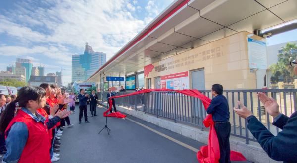 红色元素融入城市动脉 温州首条公交党建示范带揭幕
