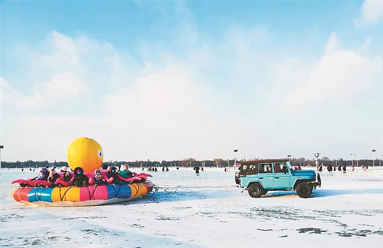 """哈尔滨冰雪旅游多点""""吸睛"""""""