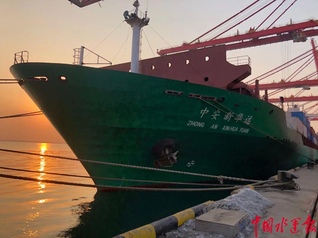 山东港口日照港君安南沙精品航线再次升级