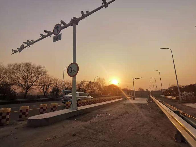 江苏灌南326省道货车专用道电子抓拍系统即将投运