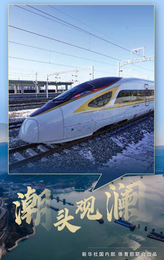 开往未来的冬奥列车