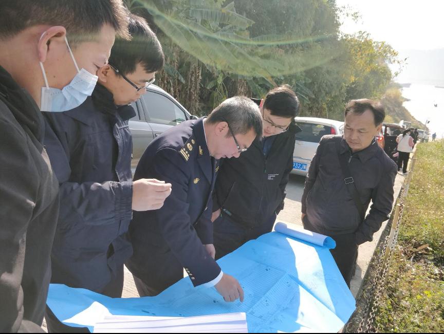 肇庆海事局给力保障护航大桥水上施工