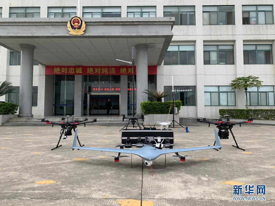 护航春运 揭阳交警启用无人机空中巡逻