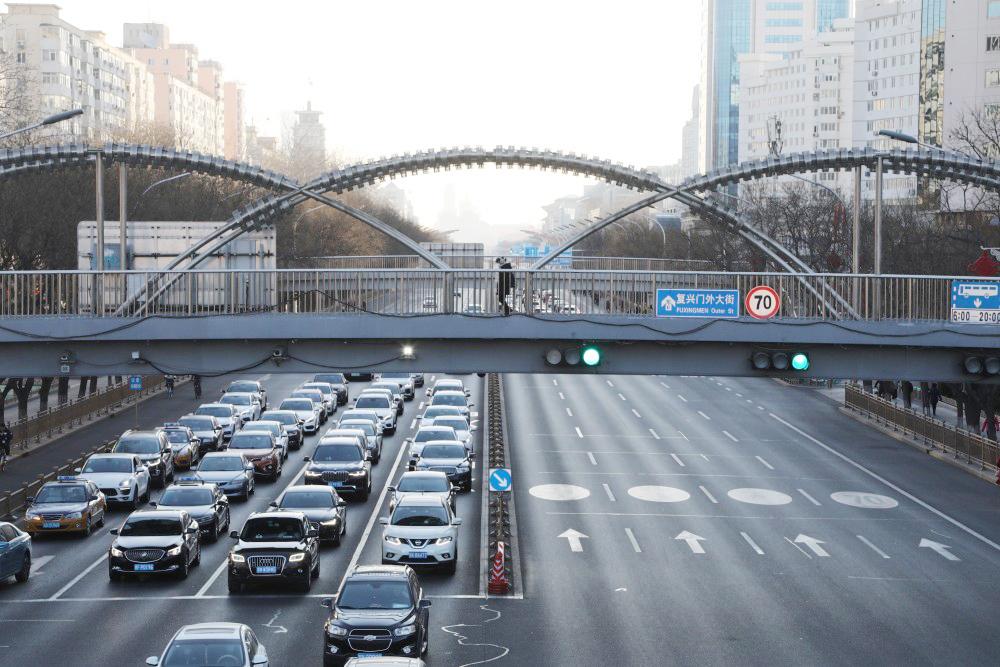 节后首个工作日,北京早高峰交通平稳有序