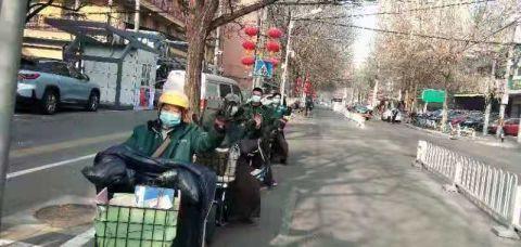 朝阳邮政春节期间投递邮件260余万件