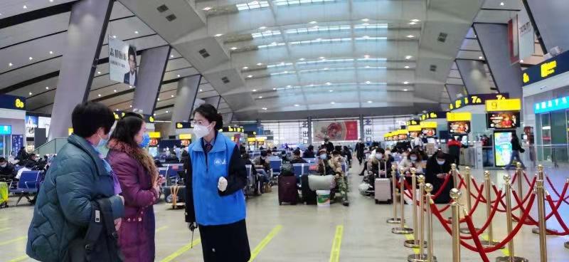 今年春运,北京铁路单日发送旅客首次突破30万人次