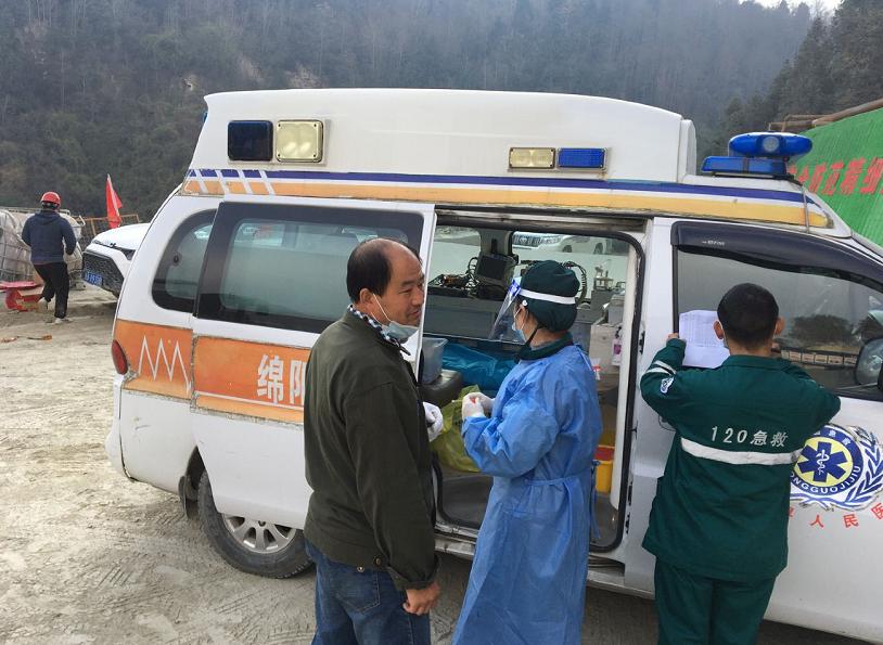 广平高速项目借助医疗力量推进节后复工