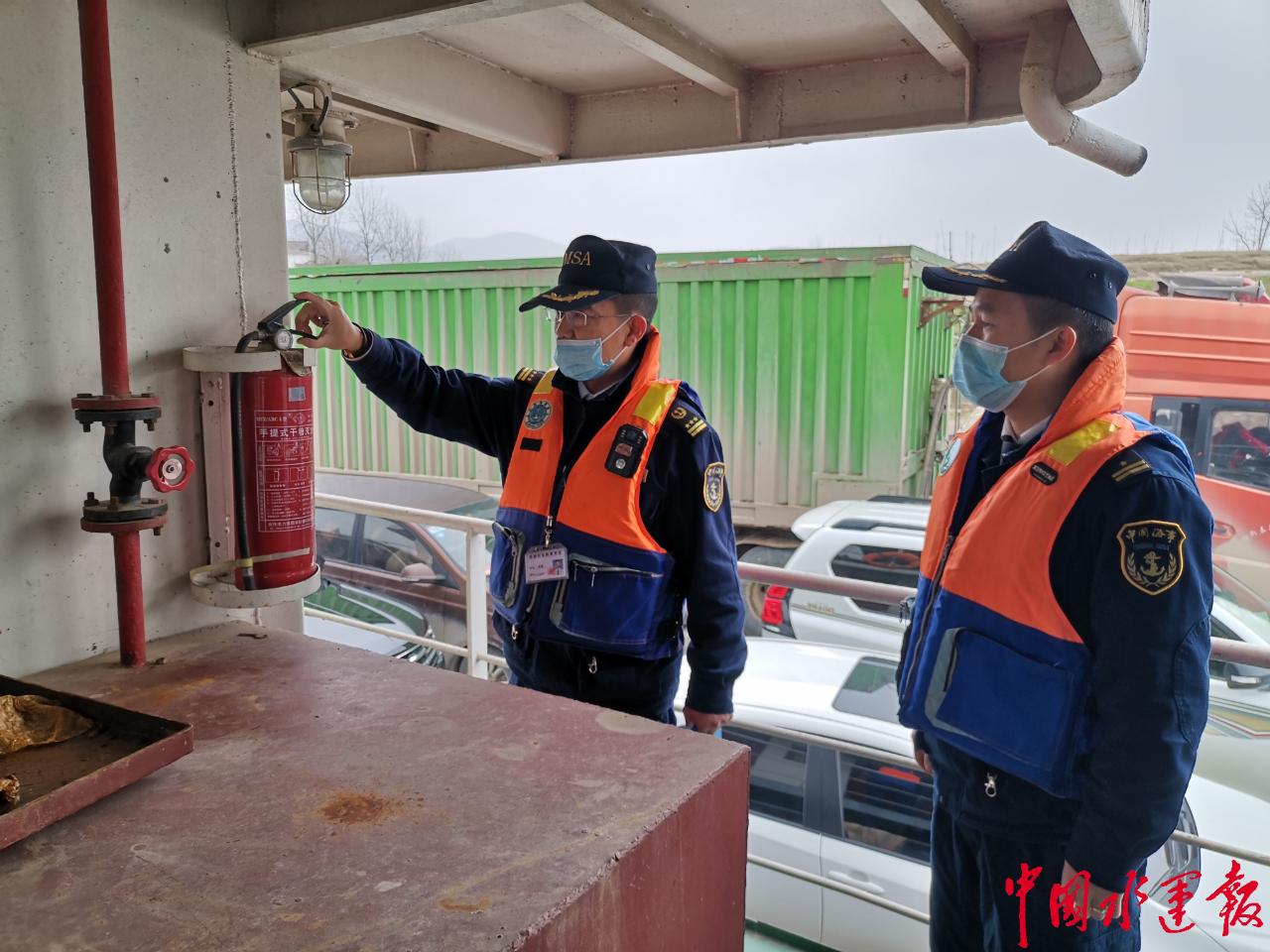 富池海事开展渡船安全隐患大排查