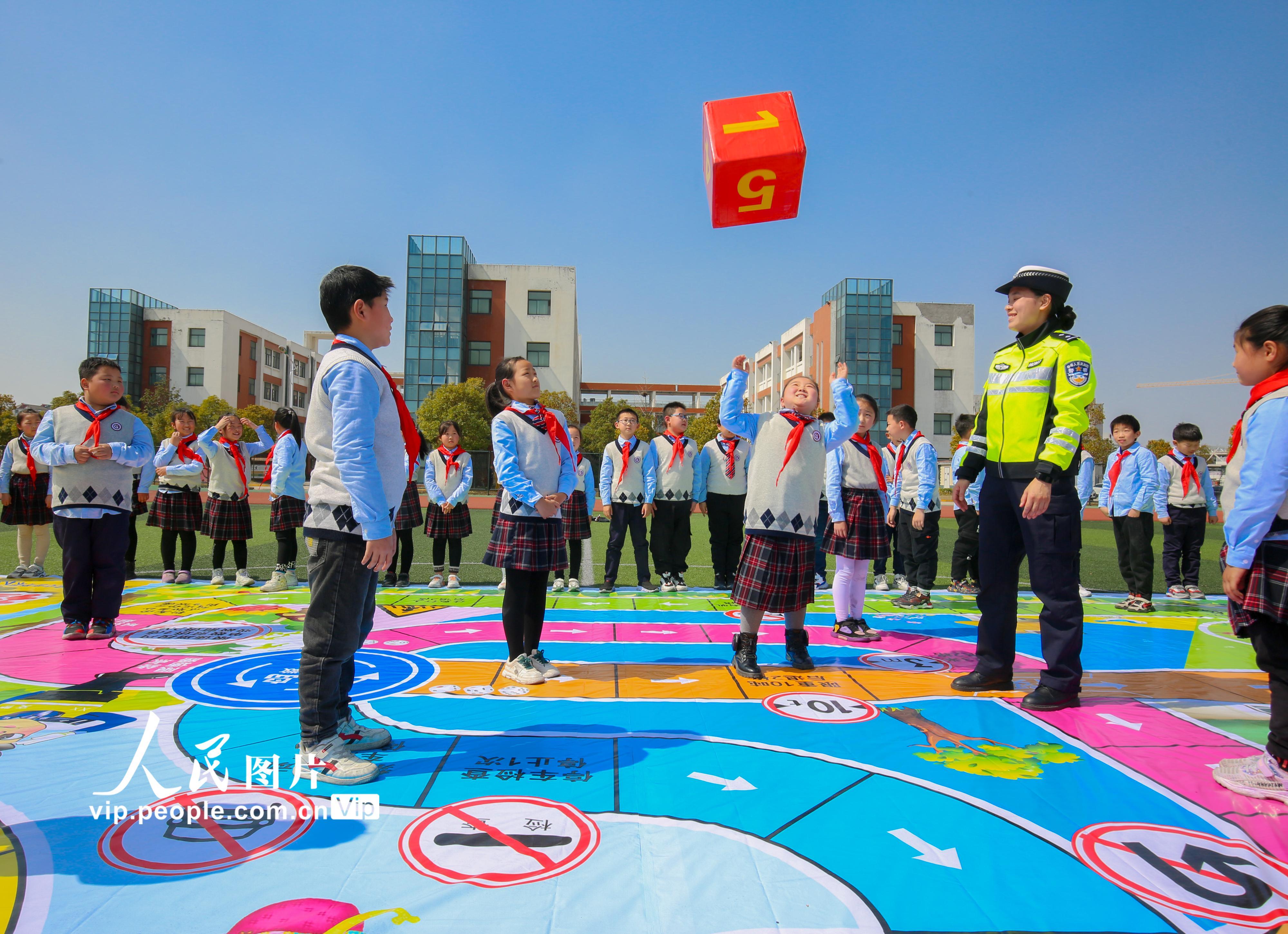 江苏如皋:交通安全教育进校园