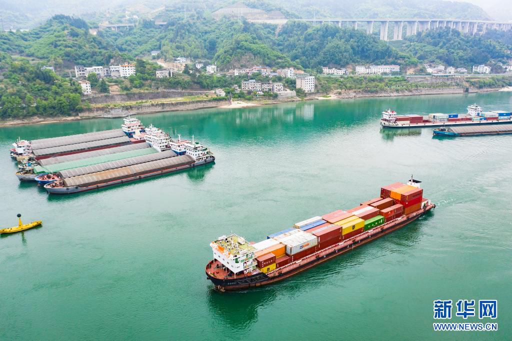 三峡北线船闸完成检修恢复通航
