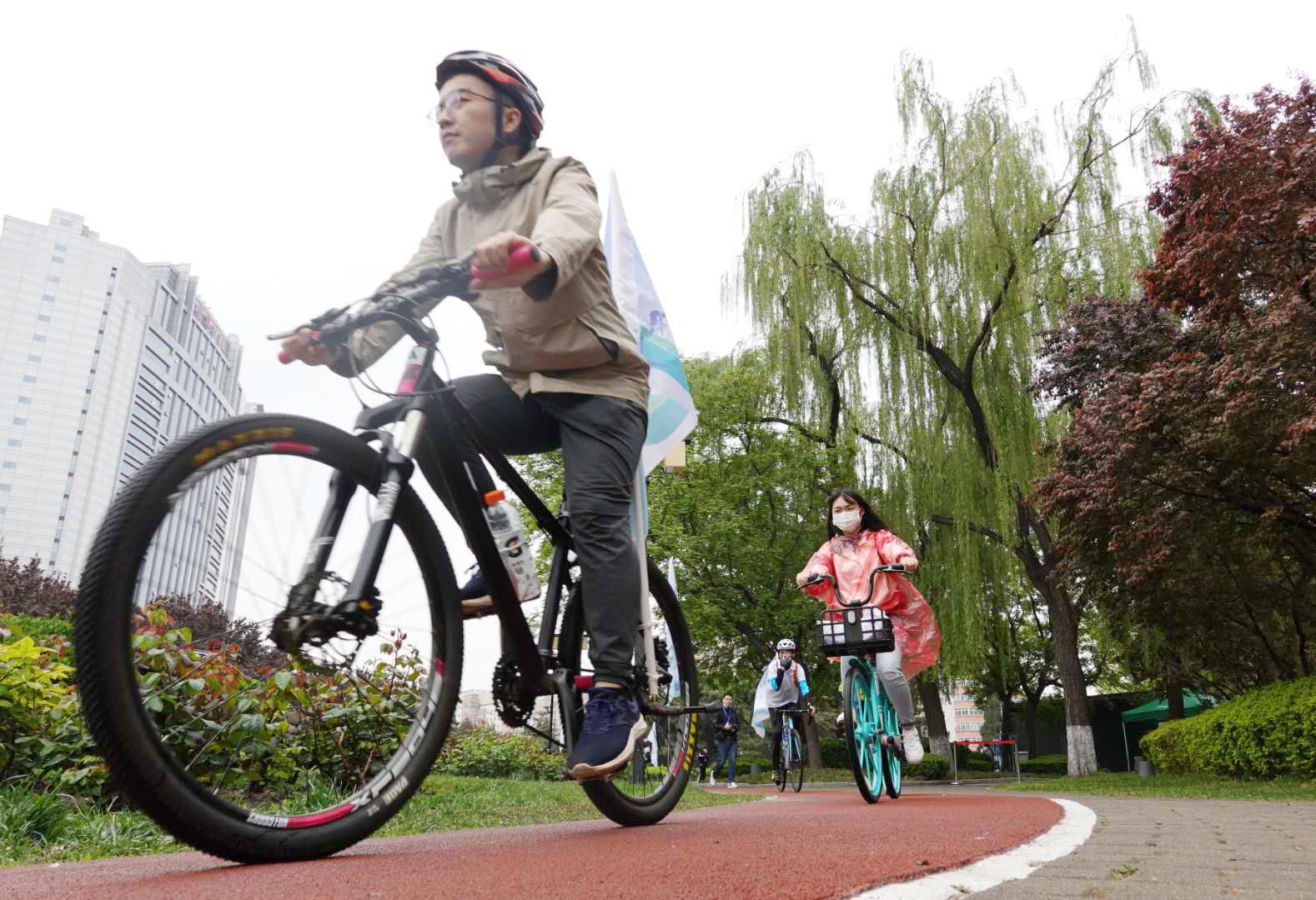 二环路全线自行车道6月底完成优化改造
