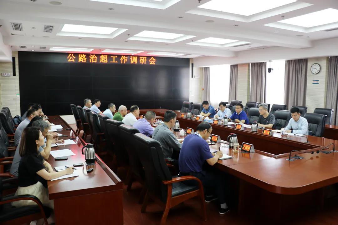 江西省交通运输厅副厅长王昭春到省交通运输执法局调研治超工作