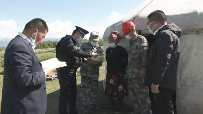 波马边境派出所开展消防安全检查工作