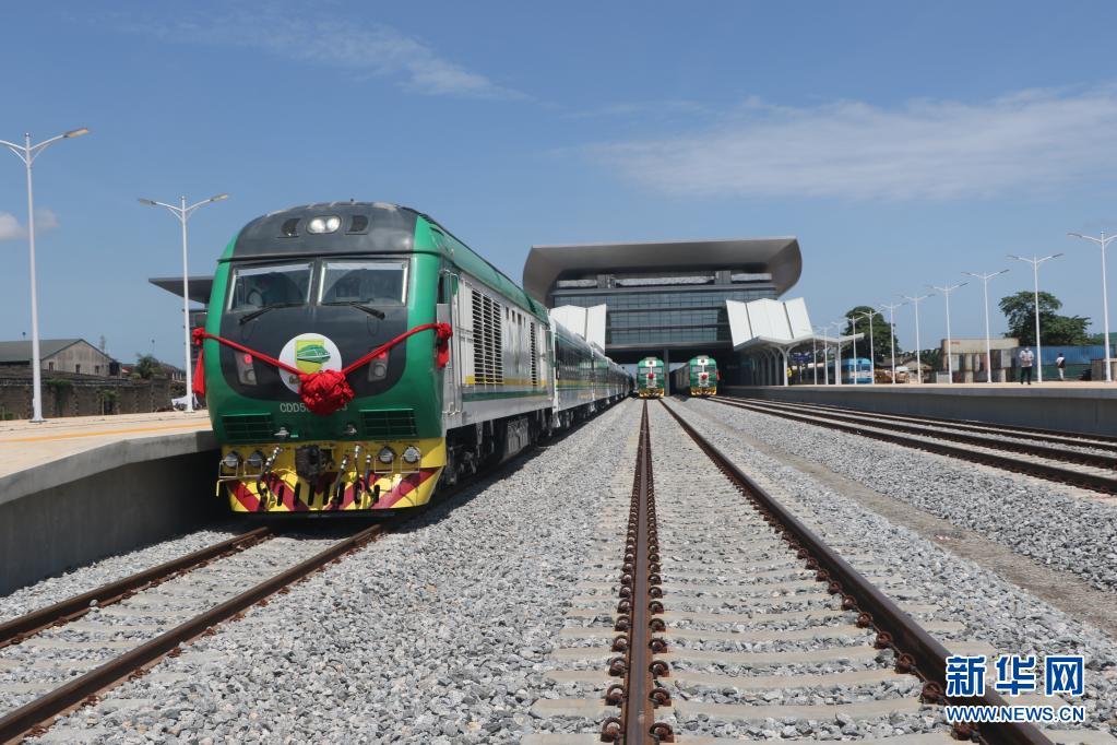 中企承建的尼日利亚拉伊铁路正式通车运营