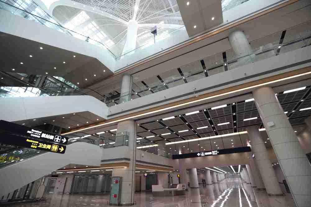 青岛胶东国际机场即将正式启用