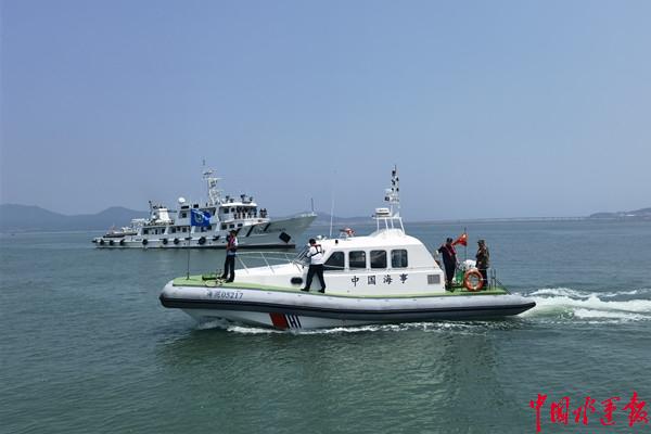 烟台长岛海事处联合多部门开展碍航养殖集中清理行动