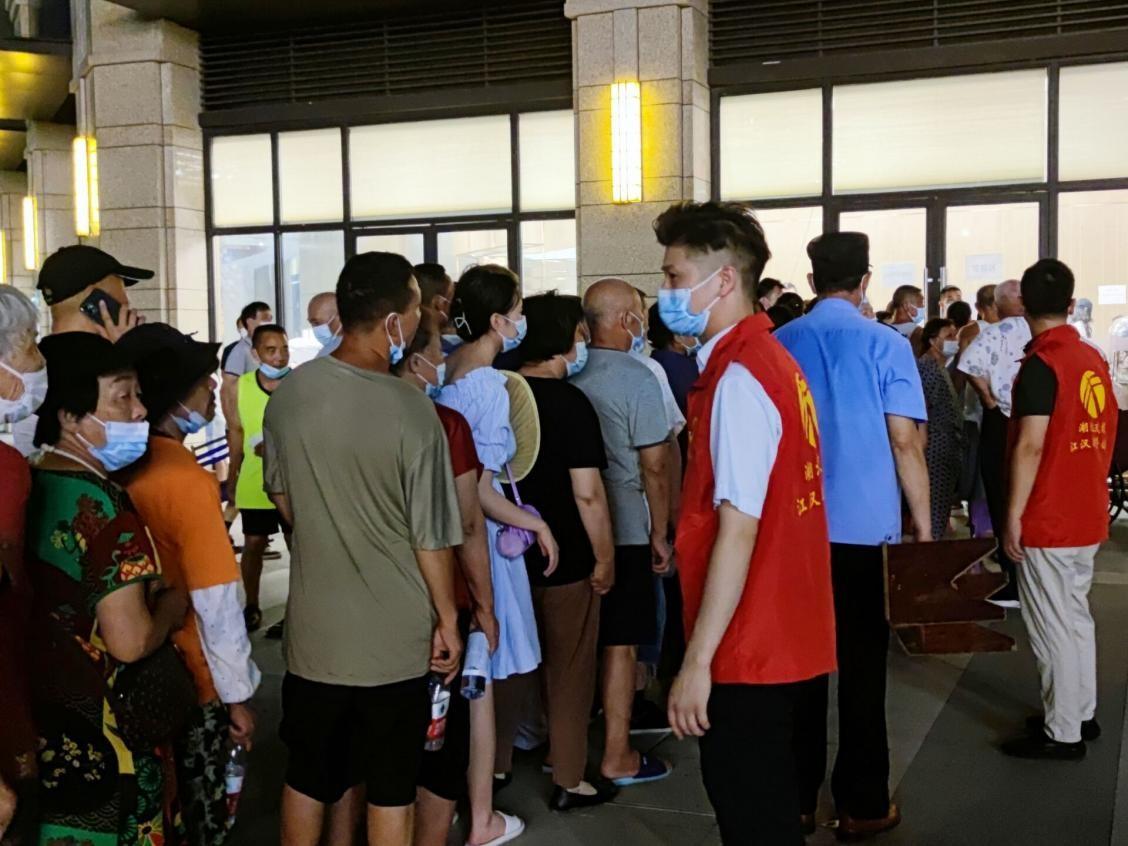 助力核酸检测,江汉运营公司下沉党员在行动