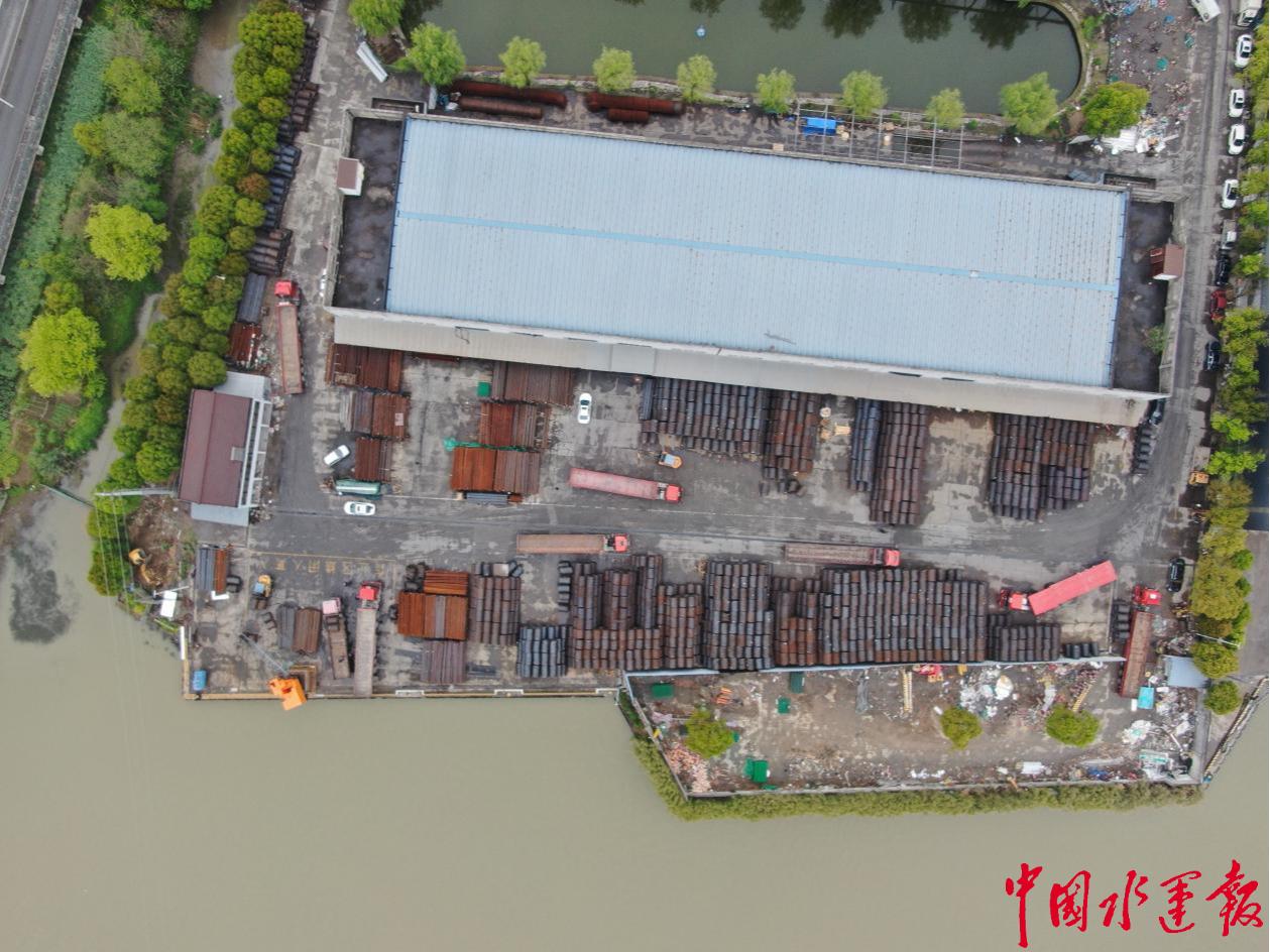 嘉兴首个内河码头完成生态环境整体提升